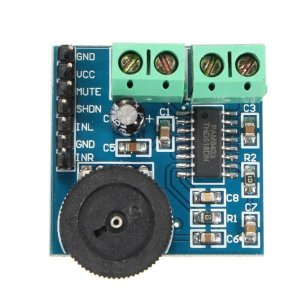 Módulo Amplificador de Áudio PAM8403 com Ajuste de Volume