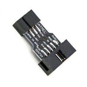 Adaptador 10 para 6 pinos para Gravador USBasp AVRisp