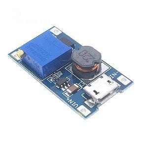 Módulo Fonte Regulador de Tensão Step Up MT3608