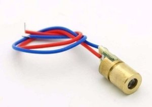 Laser Mini 650nm 6mm 5V 5mW