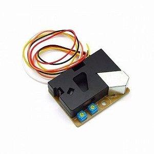 Sensor Detector de Fumaça e Poeira DSM501A