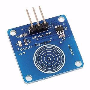 Módulo Sensor De Toque Capacitivo TTP223B