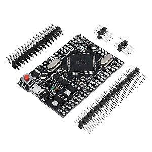 Placa de Desenvolvimento ATMEGA2560 Pro Mini (Compatível com Arduino Mega)