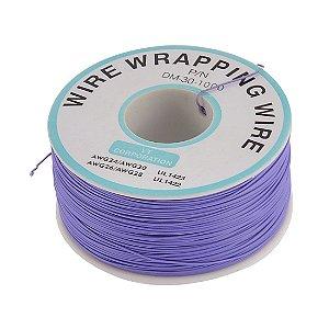 Fio Wire Wrap 30AWG Violeta - Venda por Metro