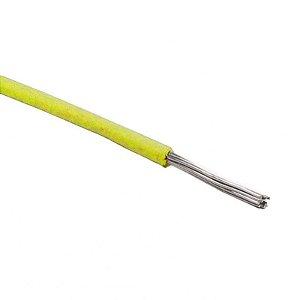 Cabo Flexível Tiaflex 0.50mm² Amarelo - Venda por Metro