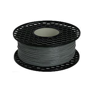 Filamento ABS para Impressora 3D 1.75mm 1Kg Cinza Claro