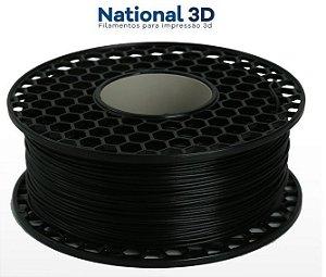 Filamento ABS para Impressora 3D 1.75mm 1Kg Preto