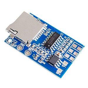 Módulo Decodificador de Áudio MP3 GPD2846A