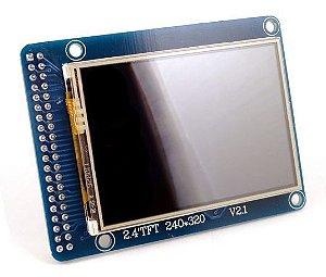 "Shield LCD TFT 2.4"" para Arduino Mega"