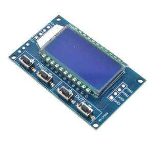 Módulo Gerador de Sinal PWM 1Hz - 150kHz com Display LCD