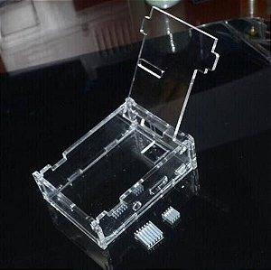 Case Raspberry Pi 2 Modelo B - Acompanha 2x Dissipadores
