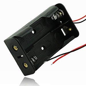 Suporte Duplo Bateria 18650