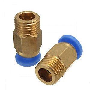 Conector Pneumático Bowden PC4-M10 para Tubo PTFE 4mm
