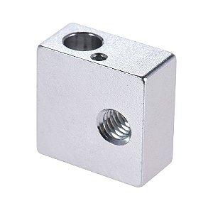 Bloco Aquecedor de Alumínio para Impressora 3D MK7/MK8