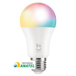 Lâmpada Led RGBW Wifi Inteligente