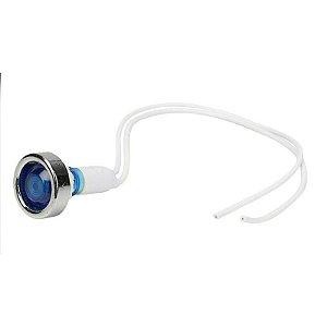 Sinaleiro Olho de Boi XD10-7 12V Azul