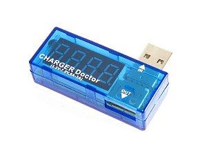 Testador de Tensão e Corrente USB