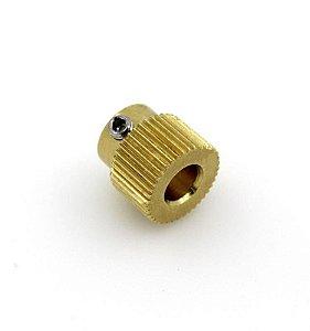 Polia Engrenagem 40 Dentes Extrusor MK8 para Impressora 3D