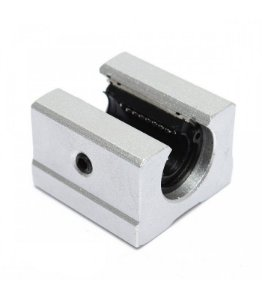Pillow Block Aberto 12mm SBR12UU com Rolamento Linear