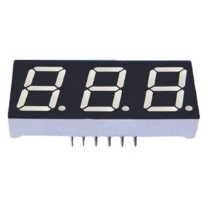 Display Led 7 Segmentos 3 Dígitos