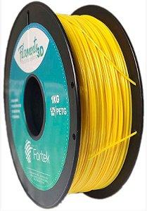 Filamento Petg 1.75mm 1Kg Amarelo