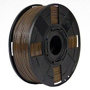Filamento ABS Premium+ 1Kg 1.75mm Marrom Imperador