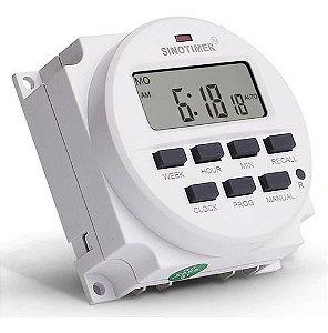 Temporizador Timer Semanal TM618