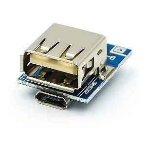 Módulo Regulador de Tensão Step Up e Carregador para Bateria de Lítio 134N3P