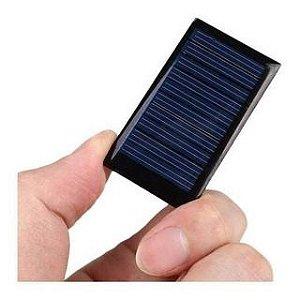 Mini Placa Painel Solar Fotovoltaico 5V 65mA
