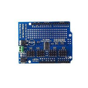 Shield Servo Motor 16 Canais para Arduino