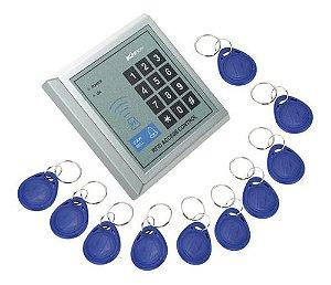 Controle de Acesso RFID 125Khz com 10 Tags