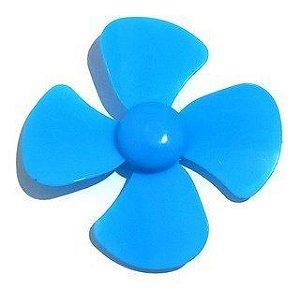 Micro Ventilador Hélice para Motor DC Azul