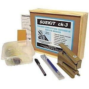 Kit para Fabricação de PCI Placa de Circuito Impresso CK-3