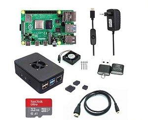 Kit Completo Raspberry Pi 4 Anatel 4GB