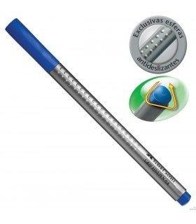 Caneta Hidrográfica Faber Finepen Grip 0,4Mm Azul Turquesa