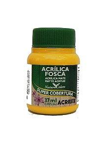 Tinta Acrilica Acrilex 37Ml Ref. 505 Amarelo Ouro Fosca