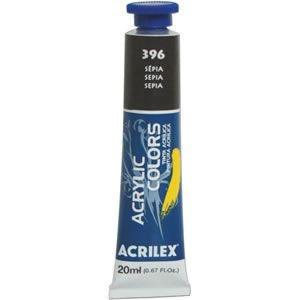 Tinta Acrilica Acrilex 20Ml - 396 Sepia