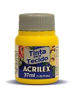 Tinta Tecido Acrilex 37Ml Ref. 505 Amarelo Ouro
