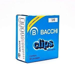 Clips Papel Bacchi Nr.3/0 Cx C/50Un