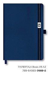 Caderno Otima Papertalk Basic A5 Azul 80Fls 3988-2