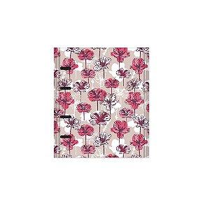 Caderno Otima Floral 177 Rosa Argolado 190Fl 4196-0