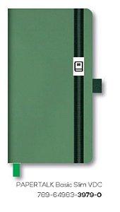 Caderno Otima Papertalk Basic Slim Verde Claro 80Fls 3979-0