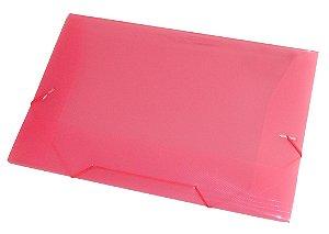 Pasta Plastica Acp Aba Of. Vermelha Ref.1021 Espessura 0,35Mm