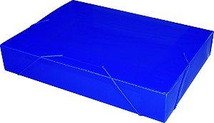 Pasta Plastica Acp 55Mm Azul  Ref.1025  Espessura 0,50Mm