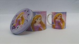 Caneca Porcelana Arteslar Rapunzel