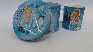 Caneca Porcelana Arteslar Cinderella