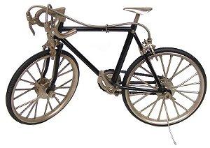 Enfeite Mec Daruma Bicicleta Metal p/ Montar