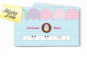 Indicador Ótima Sticky Markers Ice Cream C/5 Cores 125Fls