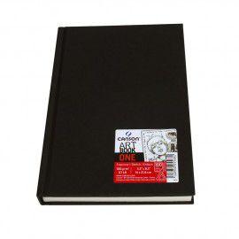 Caderno Esboço Canson Art Book One Branco 100Grs A4 98Fls