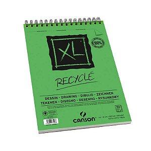 Bloco Desenho Canson XL Recyclé Espiral 160Grs 50Fls